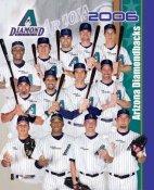 Diamondbacks 2006 Team Composite 8x10 Photo