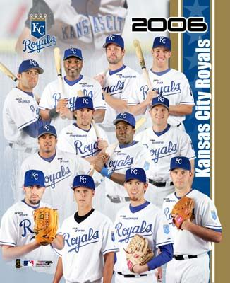 Royals 2006 Team Composite 8x10 Photo