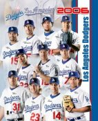 Dodgers 2006 Team Composite 8x10 Photo