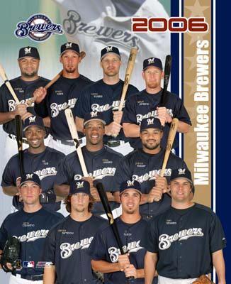 Brewers 2006 Team Composite 8x10 Photo