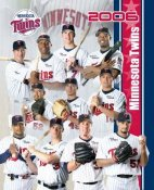 Twins 2006 Team Composite 8x10 Photo