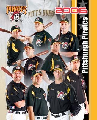 Pirates 2006 Team Composite 8x10 Photo
