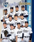 Padres 2006 Team Composite 8x10 Photo