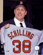 Curt Schilling LIMITED STOCK Boston Red Sox 8x10 Photo