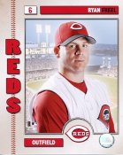 Ryan Freel 2006 Studio LIMITED STOCK Cincinnati Reds 8x10 Photo