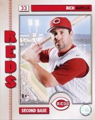 Rich Aurilia 2006 Studio LIMITED STOCK Cincinnati Reds 8x10 Photo