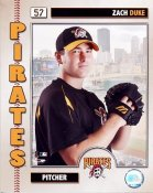 Zach Duke 2006 Studio LIMITED STOCK Pittsburgh Pirates 8x10 Photo
