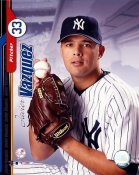 Javier Vazquez Studio New York Yankees 8X10 Photo