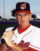 Matt Williams LIMITED STOCK Cleveland Indians 8X10  Photo