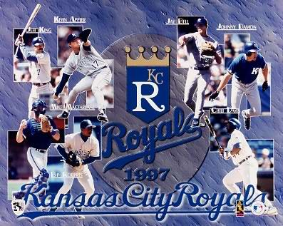 Royals 1997 Team Composite 8x10 Photo