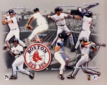 Boston 1997 Red Sox Team Composite 8x10 Photo