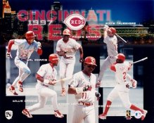 Reds 1997 Team Composite 8x10 Photo