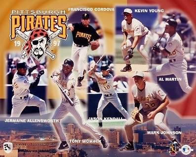 Pirates 1997 Team Composite 8x10 Photo
