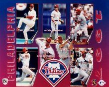 Phillies 1997 Team Composite 8X10 Photo