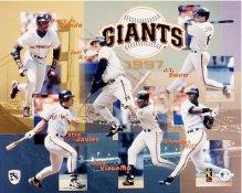 Giants 1997 Team Composite 8X10 Photo