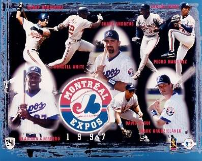 Expos 1997 Team Composite 8X10 Photo