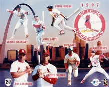 Cardinals 1997 Team Composite 8x10 Photo