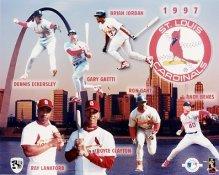 Cardinals 1997 Team Composite 8x10 Photo