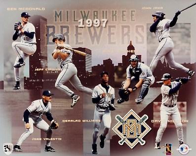 Brewers 1997 Team Composite 8x10 Photo