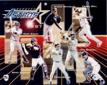 Astros 1997 Team Composite 8x10 Photo