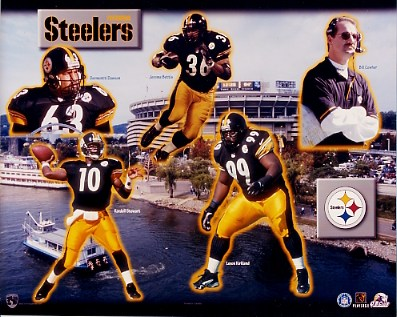 Steelers 1999 Pittsburgh Team 8x10 Photo
