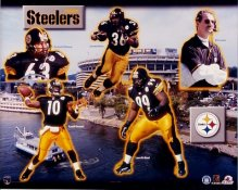 Steelers 1999 Pittsburgh Team 8x10 Photo