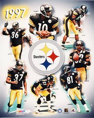 Steelers 1997 Pittsburgh Team LIMITED STOCK 8x10 Photo