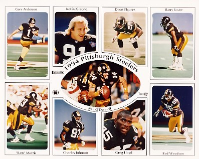 Steelers 1994 Pittsburgh Team LIMITED STOCK 8x10 Photo