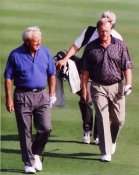 Jack Nicklaus and Arnold Palmer 8X10 Photo