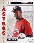 Preston Wilson 2006 Studio Houston Astros 8X10 Photo