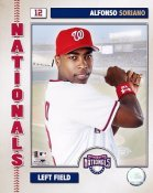 Alfonso Soriano LIMITED STOCK 2006 Studio Washington Nationals 8X10 Photo