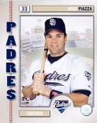 Mike Piazza 2006 Studio LIMITED STOCK San Diego Padres 8X10 Photo