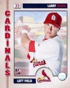 Larry Bigbie 2006 Studio St. Louis Cardinals 8x10 Photo
