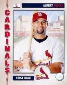Albert Pujols LIMITED STOCK 2006 Studio St. Louis Cardinals 8x10 Photo