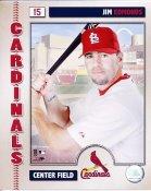 Jim Edmonds 2006 Studio LIMITED STOCK St. Louis Cardinals 8x10 Photo