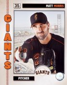 Matt Morris 2006 Studio San Francisco Giants 8X10 Photo