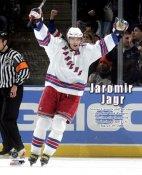 Jaromir Jagr LIMITED STOCK Rangers All Time Scoring Leader 8x10