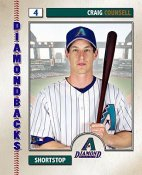 Craig Counsell 2006 Studio AZ Diamondbacks 8X10 Photo