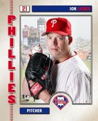 Jon Lieber 2006 Studio LIMITED STOCK Phillies 8X10 Photo