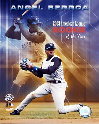 Angel Berroa 2003 ROY Kansas City Royals 8X10 Photo