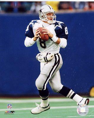 Troy Aikman 8 Dallas Cowboys 8X10 Photo