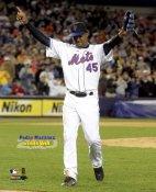 Pedro Martinez 200th Win 2006 Mets 8X10 Photo
