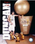 Tim Duncan MVP San Antonio Spurs 8X10 Photo LIMITED STOCK