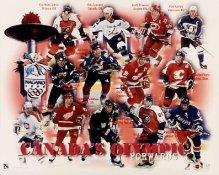 Forwards 1996 Olympics Canada 8X10 Photo