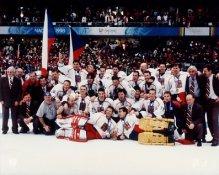 Czech 1996 Gold Team 8X10 Photo