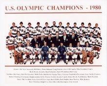 USA 1980 Olympic Champions 8X10 Photo