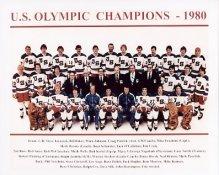 USA 1980 Olympic Champions 8X10 Photo