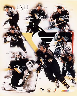 Pittsburgh 1997-98 Penguins 8x10 Photo