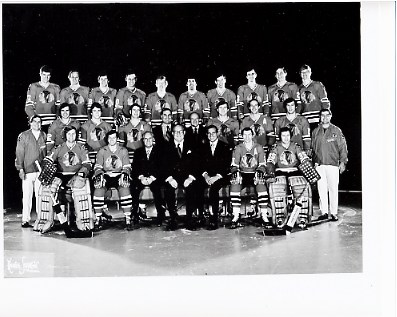Chicago 1973 Blackhawks Limited & Rare 8x10 Photo