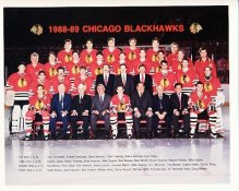 Chicago 1988-89 Blackhawks Limited & Rare 8x10 Photo SUPER SALE